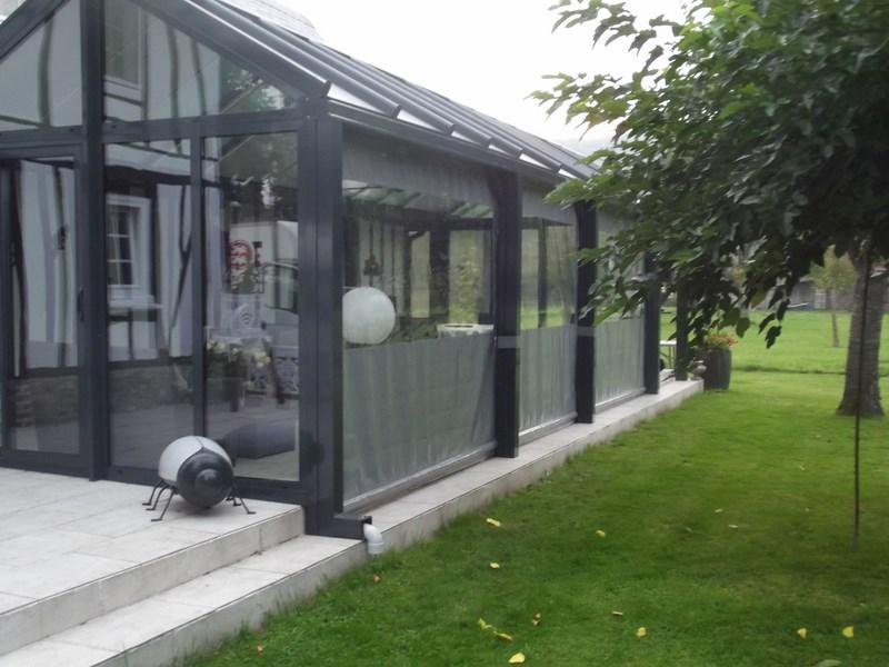 b che de terrasse de mobil home et avanc e de maison. Black Bedroom Furniture Sets. Home Design Ideas